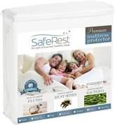 Full Size SafeRest Premium Hypoallergenic Waterproof Mattress Protector - Vinyl Free