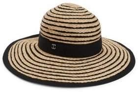 Dorfman Pacific Wide-Brimmed Straw Hat