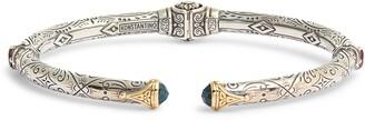Konstantino Delos London Blue Topaz & Corundum Hinge Bracelet