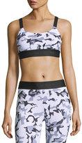 Koral Activewear Dare Camo-Print Athletic Sports Bra