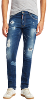 DSQUARED2 Cool Guy Distressed Slim Straight Jeans