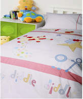 Hey Diddle Diddle Single Quilt Cover Set