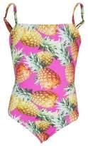 Submarine Pineapple Printed Swimsuit
