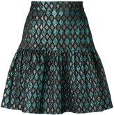 Dolce & Gabbana metallic peplum skirt