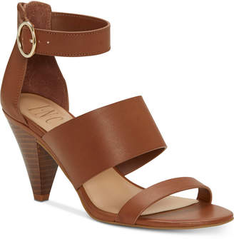 INC International Concepts Inc Gavi Strappy Cone Heel Dress Sandals, Women Shoes