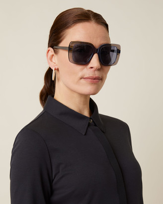 Jigsaw Freya Oversized Sunglasses