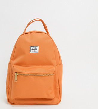 Herschel Nova backpack in papaya