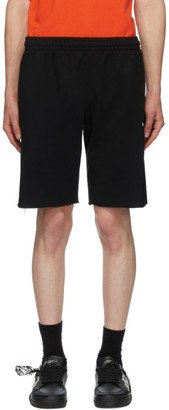 Off-White Black Caravaggio Painting Sweat Shorts