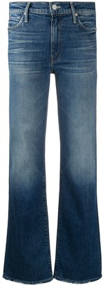 Mother Kick It high-rise straight jeans
