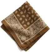 Todd Snyder Italian Cotton Bandana Pocket Square