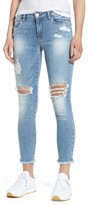 BP Women's Ripped Ankle Skinny Jeans