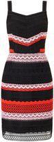 Precis Petite Petite Stripe Lace Dress