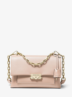 Michael Kors Cece Medium Leather Shoulder Bag