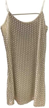 Parker Gold Silk Dress for Women