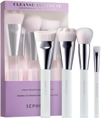 Sephora COLLECTION - Cleanse and Treat Skincare Brush Set