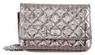 Chanel Metallic Reissue Wallet On Chain