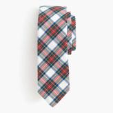 J.Crew Cotton tie in classic tartan
