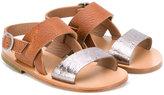 Pépé two-tone sandals