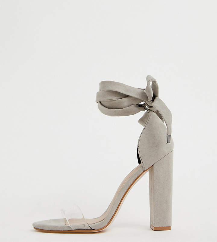 c064381d4fe Clear Heel Sandals - ShopStyle UK