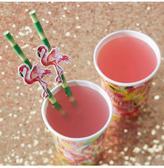 Boohoo Flamingo Straws