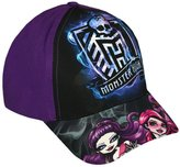 Monster High Girls Official Cap New Kids White Summer Hats