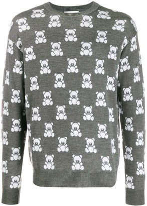 Moschino teddy bear jumper