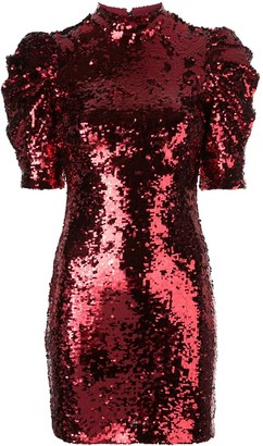 Alice + Olivia Brenna sequin dress