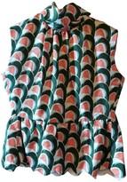 J.W.Anderson Green Silk Top for Women