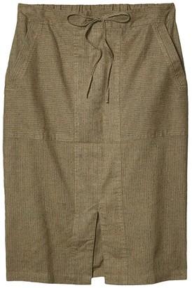 Prana Bristol Skirt (Chalkboard) Women's Skirt