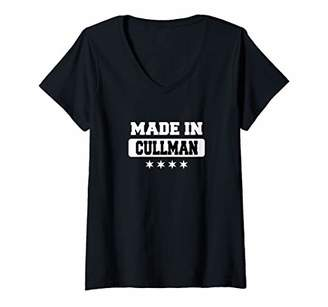 Womens Made In Cullman V-Neck T-Shirt