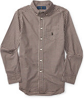 Ralph Lauren Poplin Shirt, Big Boys (8-20)