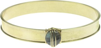 Nashelle Echo Signature Bangle with Labradorite