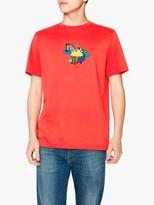 Paul Smith Zebra Cloud Print T-Shirt