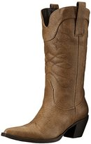 AdTec Women's 14 Inch Western Pull On Work Boot