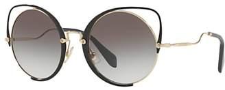 Miu Miu MU 51TS Round Sunglasses