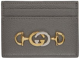 Gucci Taupe Zumi Card Holder