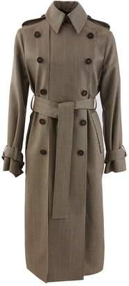 Rokh Woollen open trench coat