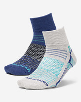 Eddie Bauer Women's Active Pro COOLMAX® Quarter Crew Socks - 2 Pack