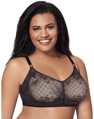 Just My Size Women's Undercover Slimming Wirefree Plus Size Bra (J228)