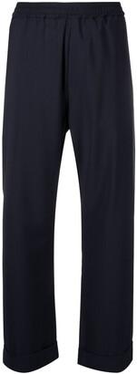 Barena High-Rise Flared Trousers