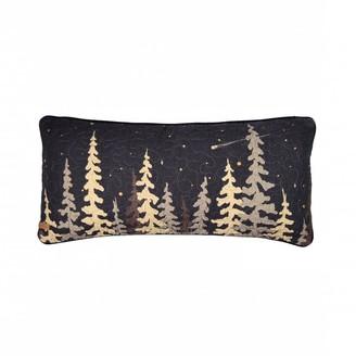 Donna Sharp Moonlit Cabin Rectangle Decorative Pillow