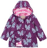 Hatley Girls' Floral Butterfly Raincoat, Purple