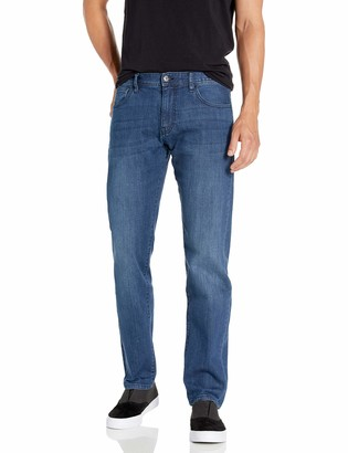 Armani Exchange Men's Cotton Stretch Indigo Straight Jeans