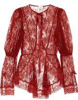Agent Provocateur Marcia Leavers Lace Jacket