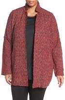 Nic+Zoe Tweed Jacket (Plus Size)