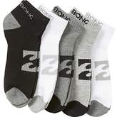Billabong Ankle Sock 5 Pack