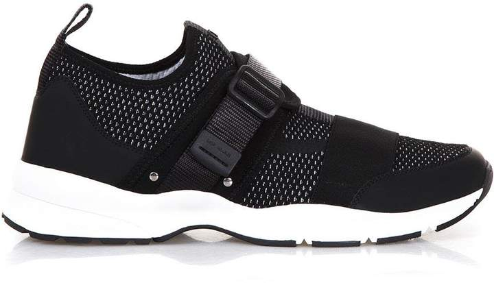 Christian Dior Mesh & Leather Runner Sneakers