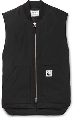 Pop Trading Company + Carhartt Wip Quilted Nylon Gilet