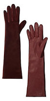 Agnelle Opera Long Glove: Burgundy