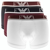 Giorgio Armani Emporio Underwear 3 Pack Trunks